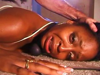 Ebony Babe Is Fucking Crying From The Pleasant Pain
